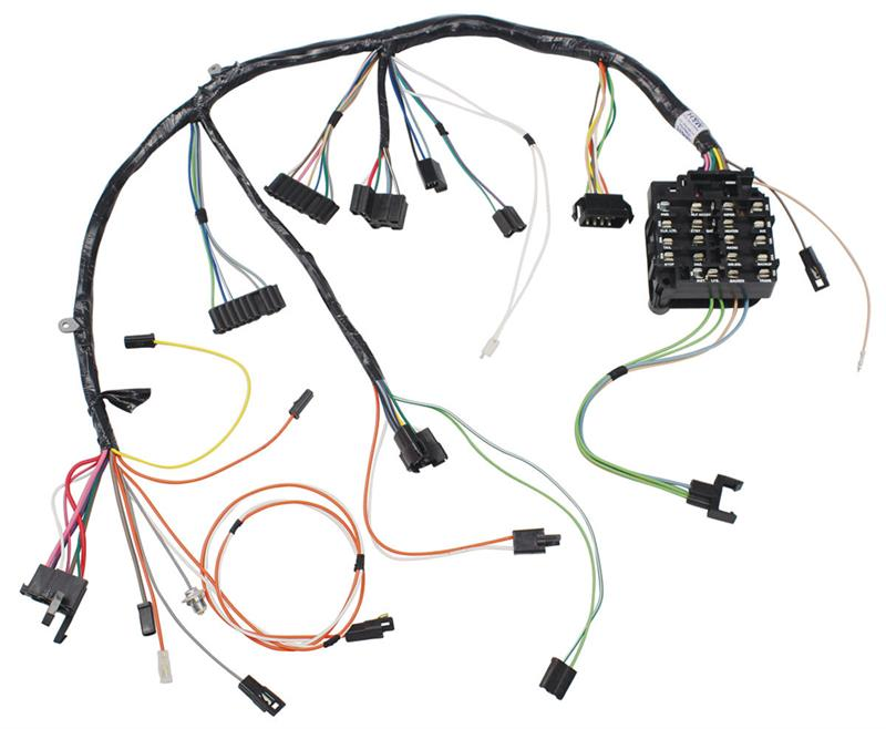 Dash Wiring Harness All  1965 Oldsmobile Cutlass