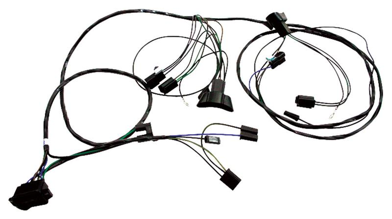 forward lamp wiring harness  1965 pontiac gto