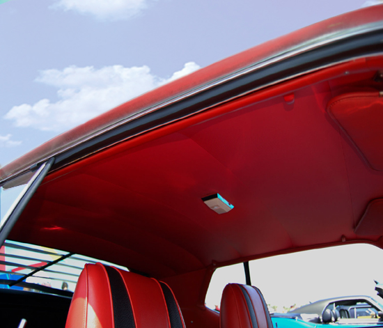 Formal Roof Headliner 1962 63 Galaxie