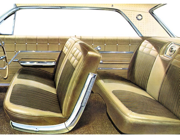 Seat Upholstery Imported 1962 Impala Seat Cover Front