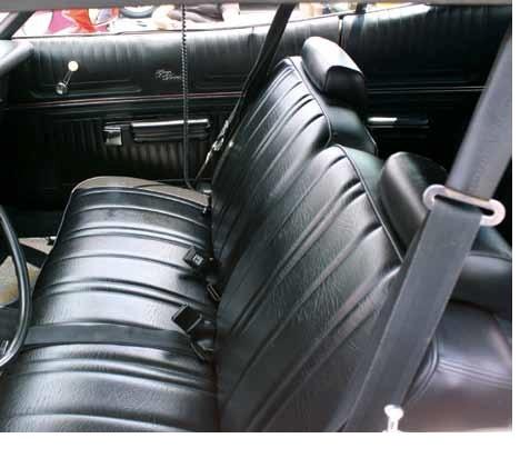 Seat Upholstery 1974 75 Gran Torino Sport Flight Bench