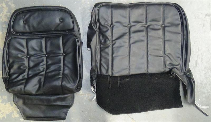 Seat Upholstery 1974 76 Ranchero Torino Seat Cover Front