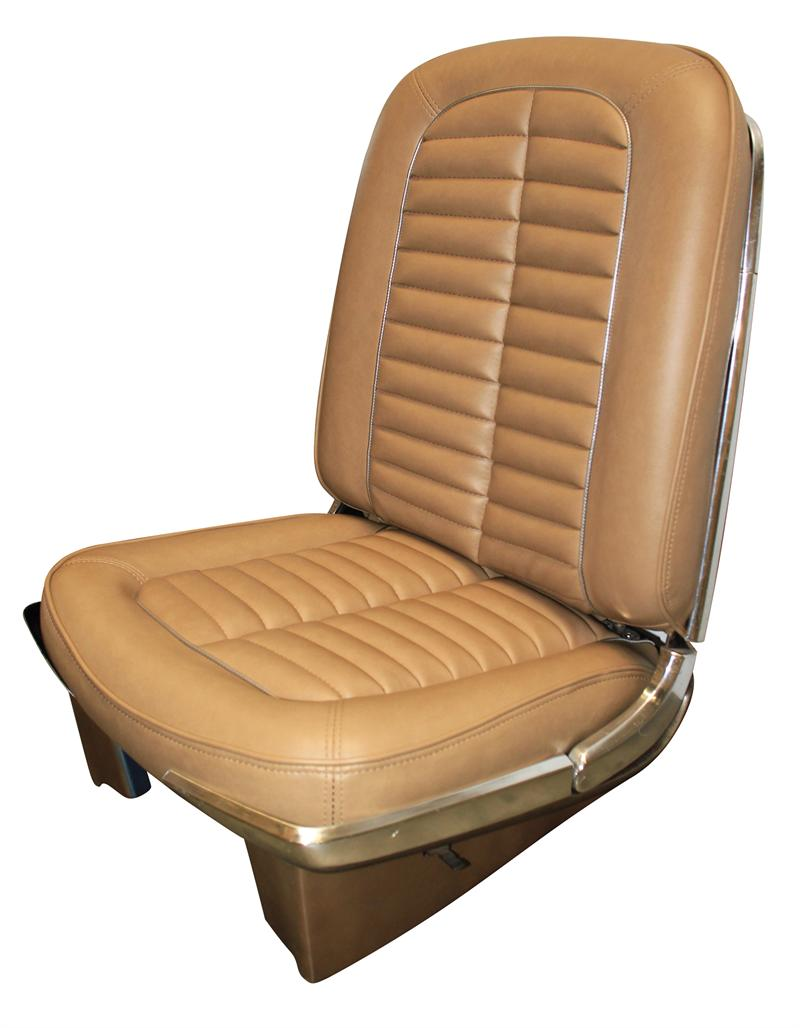 Seat Upholstery, Imported, 1964 Galaxie / 500XL, 500 Seat Cover - Front/Rear Set