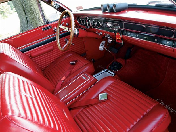 Seat Upholstery Imported 1965 Comet Cyclone Hardtop Bench Seat Cover Rear