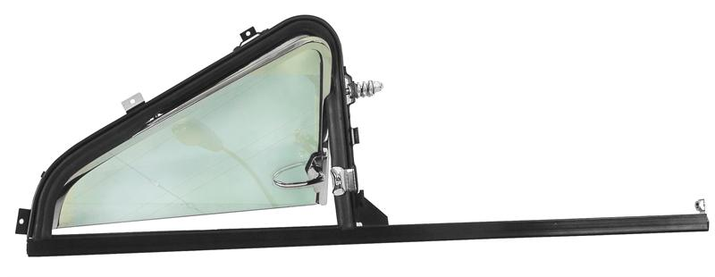 Vent Window Assembly W Painted Glass Lh 1951 54
