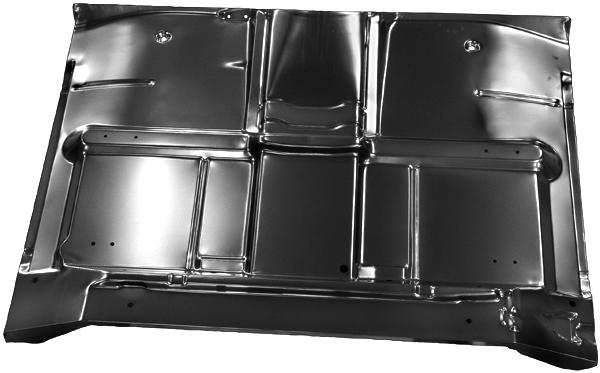 cab floor panel wo brace complete   chevrolet pickup