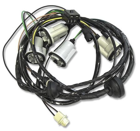 rear lamp wiring harness  1970 73 chevrolet camaro