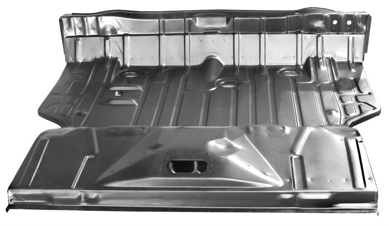 Trunk Floor Complete 1971 72 Chevelle Amp 70 72 Monte Carlo