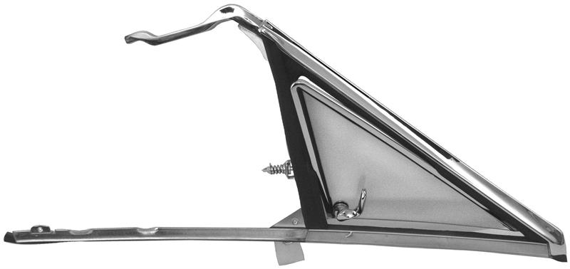 Vent Window Assembly Rh 1966 67 Chevelle Gto Skylark