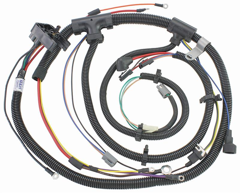 Engine Wiring Harness  1973 Chevrolet Chevelle