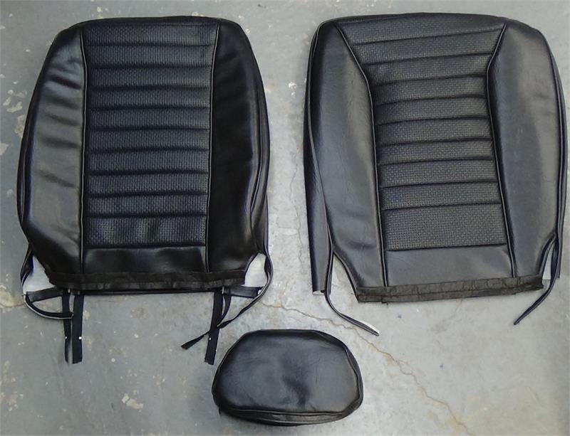 Dodge Truck Seat Covers >> Seat Upholstery, 1972-74 Pantera Seat Covers