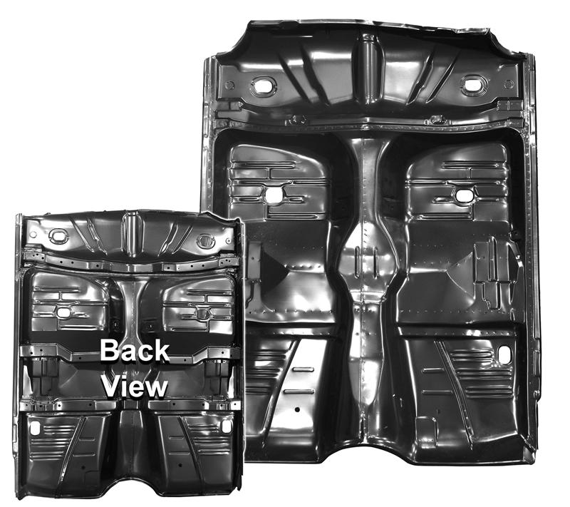 Floor Pan Complete 1961 64 Impala Biscayne Amp Belair Coupe
