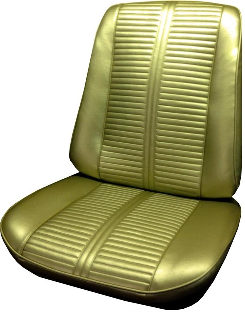 Car Bench Seat Covers >> Seat Upholstery, US-made, 1966 LeMans, GTO, Tempest Custom ...
