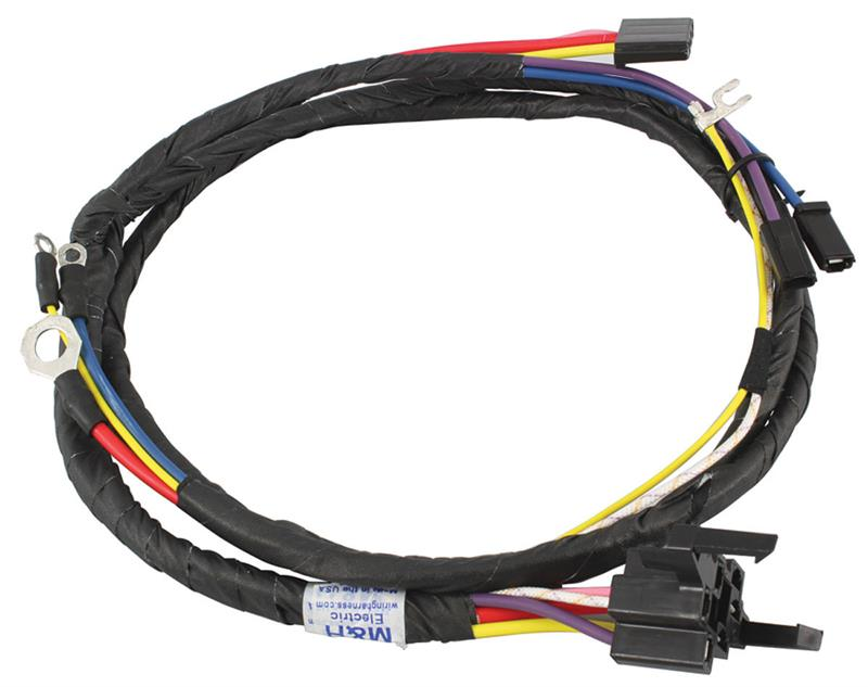 engine wiring harness w/ ignition switch to engine, 1961 ... 1961 cadillac distributor wiring