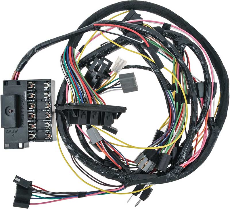 harley chopper wire diagram 7 wire harness cadillac wire harness dash & forward lamp wiring harness, 1960 cadillac