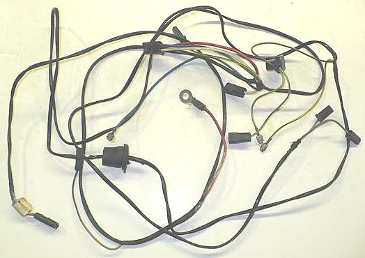 air conditioning wiring harness w heater wiring 1968 70. Black Bedroom Furniture Sets. Home Design Ideas