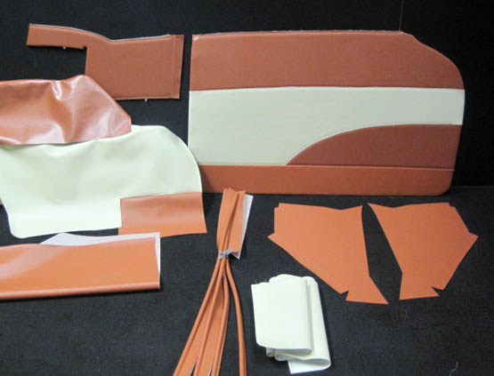 1957 Chevrolet Belair Convertible Interior Package Kit