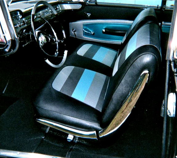1958 Chevrolet Impala Seat Upholstery Seat Covers
