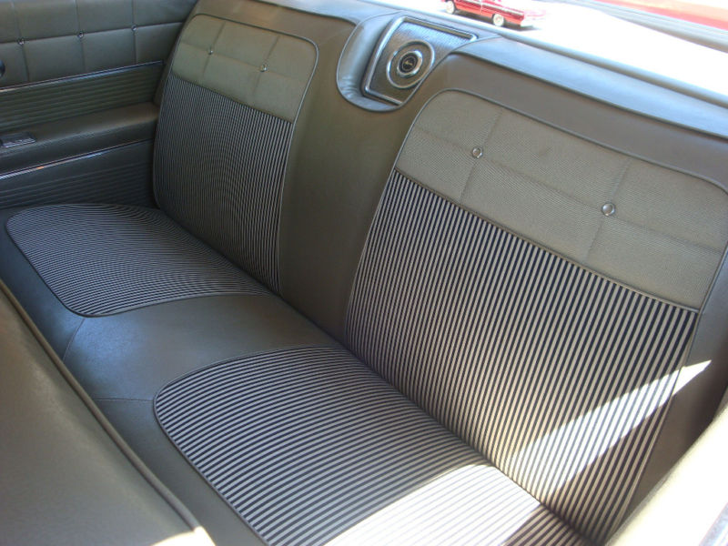 Seat Upholstery  USmade  1962 Impala Seat Cover  Rear