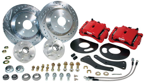 Nissan Montclair BIG BRAKE Front Disc Brake Conversion Kit, 1963-64 Ford ...