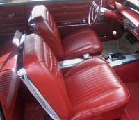 1963 Chevy Impala Ss Hardtop Convertible Interior Package Kit