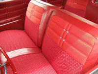 1963 Chevy Impala Hardtop Non Ss Interior Package Kit