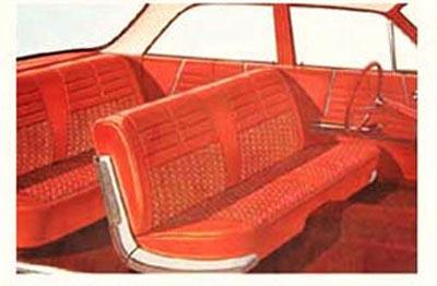 1964 Chevy Impala 4 Door Hardtop Sedan Interior Package Kit
