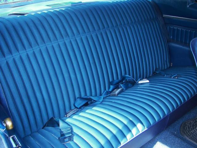 Seat Upholstery 1970 Monte Carlo Coupe Seat Cover Rear