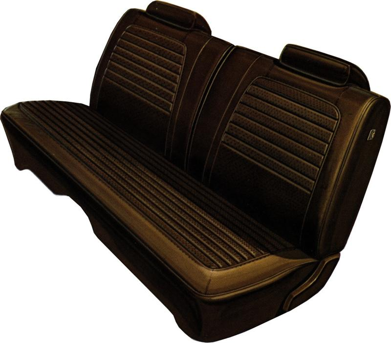 Seat Upholstery 1972 Dodge Charger SE Split Bench Seat