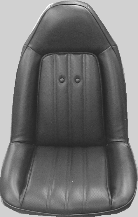 Seat Upholstery 1974 75 Chevelle Malibu El Camino Seat Cover Front