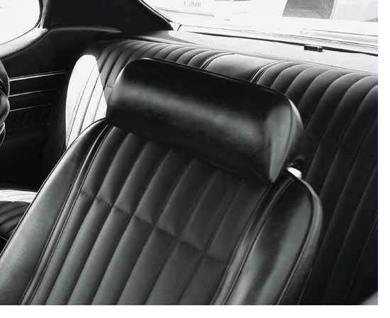 Headrest Seat Covers 1968 72 Lemans Gto Front