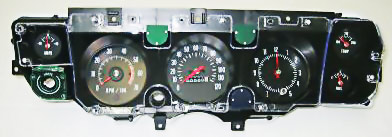 Gauge Cluster Assembly 1970 72 Chevelle El Camino Monte