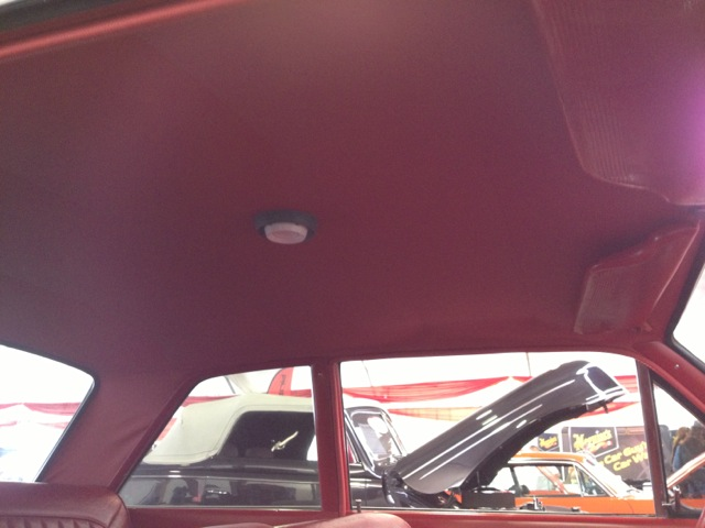 2 Door Hardtop Headliner 1963 65 Falcon