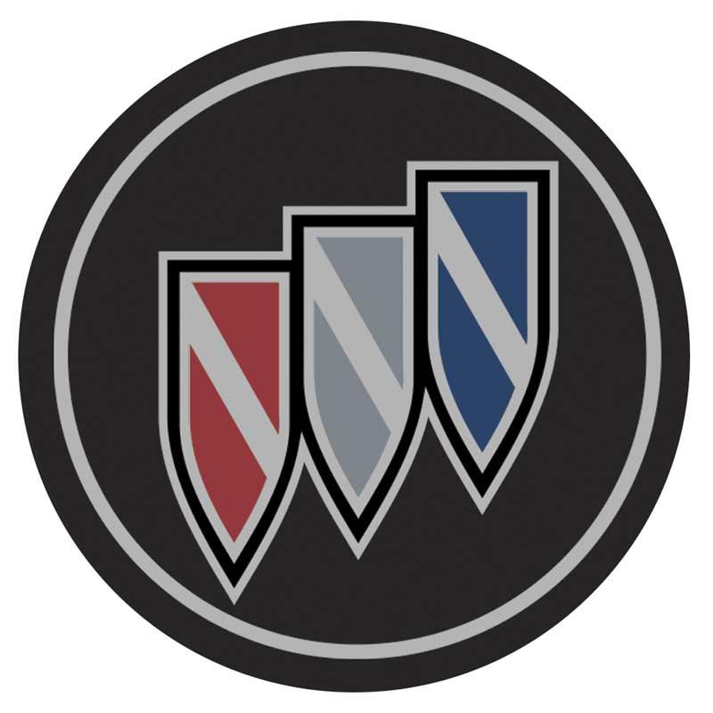 Hub Cap Emblem Tri Shield 1984 87 Buick Grand National