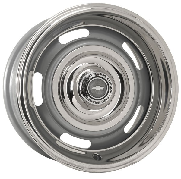 Rally Wheel Chevrolet Powdercoated Agent Silver