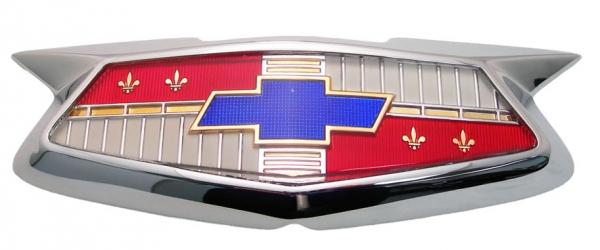 Hood Emblem Assembly Us Made 1954 Chevy Belair 150 210