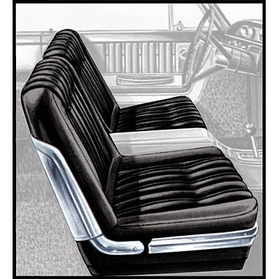 Seat Upholstery 1963 Galaxie 500 2 Door Split Bench