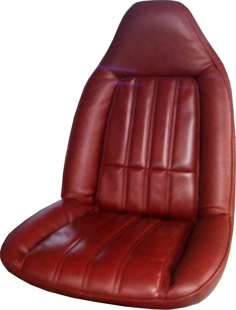 Seat Upholstery 1977 El Camino Seat Cover Front