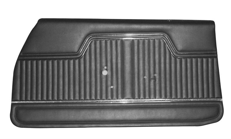 Door Panels 1970 Chevelle El Camino Front