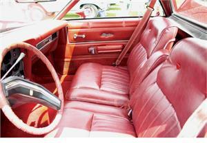 Seat Upholstery 1977 79 Ranchero Split Bench Seat Cover