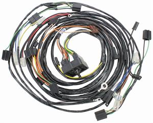 forward lamp wiring harness w a c except fleetwood 1964 cadillac rh autoobsession com  1964 cadillac deville wiring harness