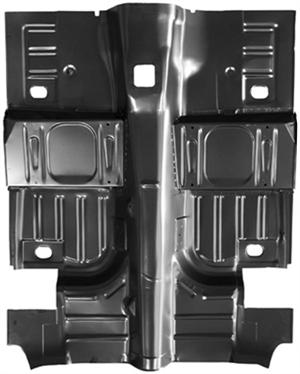 Floor Pan Complete 1965 68 Mustang Coupe Amp Fastback