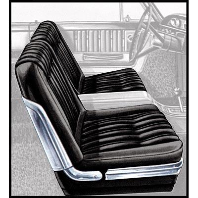 Seat Upholstery 1963 Galaxie 500 2 Door Split Bench