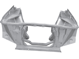 1962-67 CHEVROLET  Nova/ Chevy II  Body Panels/ Sheetmetal  Firewalls