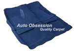 Molded Carpet, 61-72 SCOUT STD CAB 4WD