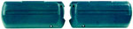 Arm Rest Bases, Medium Blue, 1968-69 CAM/FB 68-72 CHEVELLE/GTO/CUTL/SKYL/MC