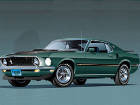 1969-73 FORD  Mustang