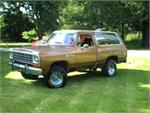 DODGE TRUCKS  Ramcharger
