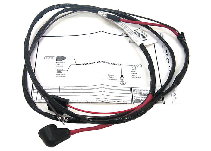[DIAGRAM_38EU]  Tachometer Wiring Harness, 1963 Chevy Gmc/ Truck | Chevy Tach Wiring |  | Auto Obsession