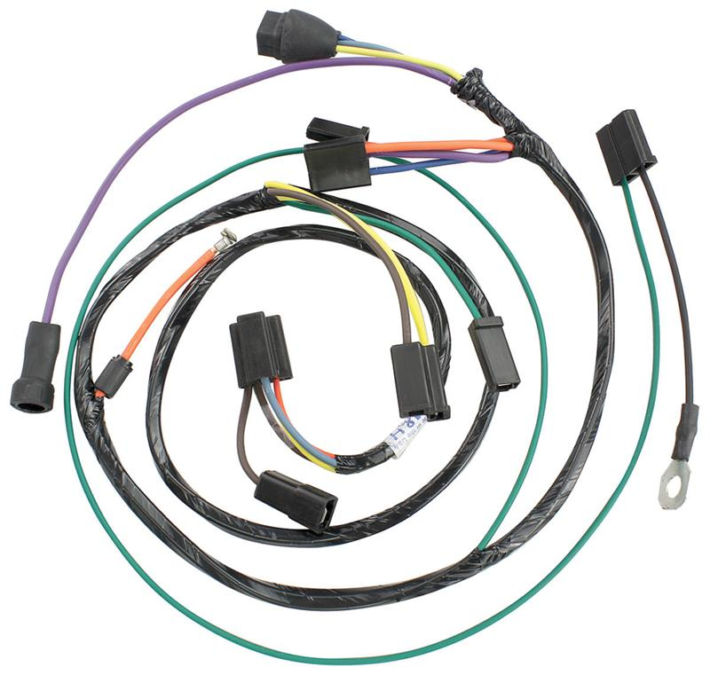 Air Conditioning Harness W   Heater Wiring  1965
